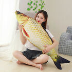 EG_ 8inches Simulation Fish Plush Toy Stuffed Cat Play Chewing Scratch Catch Toy