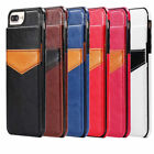 Faux Leather Wallet Case & Back Flip Stand Feature Cover for iPhone 5 6 S 7 Plus