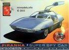 AMT 1/25 Piranha Super Spy Car New Plastic Model Kit AMT916/12 Man from Uncle