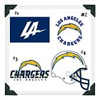 LOS ANGELES CHARGERS NFL Edible Image Cake Topper Photo Icing Frosting Sheet $8.5 USD on eBay