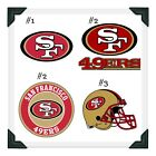San Francisco 49ers NFL Edible Image Cake Topper Photo Icing Frosting Sheet