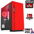 Customize Ultra Fast Quad Core Amd Gaming Computer Radeon 16gb Wifi Desktop Pc R
