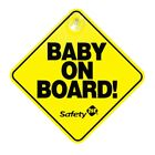 Safety 1st Baby On Board Car Window Sign - English & French