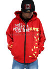 Arme Welcome To the Hood Red Hoodie