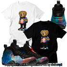 NEW AIR FOAMPOSITE Big Bang MATCHING CUSTOM T SHIRT FOAM 1-9-2