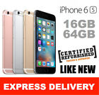 Apple iPhone 6 16GB 4G Smartphone Unlocked 3 Colours Express Shipping NFS