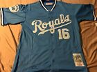 Bo Jackson Kansas City Royals Adult Jersey Sizes Med 3XL