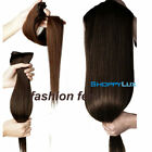 Hair Extensions Natural Black Brown Blonde 24-inches Synthetic 5 Clips Long Hair