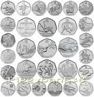 London 2012 All Olympic 50p Coins