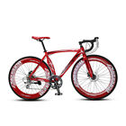 Cyrusher 56cm 700C Men Road Bike Bicycle 14 Speeds Road Disc Brakes Shimano 2400