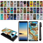 "For Samsung Galaxy J7 J7V J727 5.5"" 2017 Hybrid Bumper Hard TPU Case Cover + Pen"