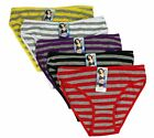 Lots of 5 Womens Hipster Boyshort Girl Panties Bikini Cotton Underwear S,M,L,XL