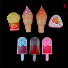 Ice Cream Popsicles Chips Barbie Doll Toy Kitchen food Play Doll toy for babyP