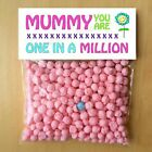 MOTHERS DAY CARD GIFTS for MUM NANNY DAD One in a million Personalised