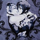 "39""*55"" Anime Black Butler Cosplay Velvet Blanket COS Child Cartoon Nap Sofa Rug"