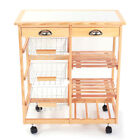 rolling wooden carts
