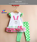 Easter Outfit Girl Boutique Set *No Sleeve*6M-3T *Polka Dots,  Stripes,