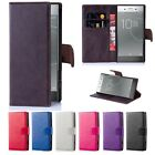 Sony Xperia Z5 Premium [2015] Case - Leather Flip Wallet Book Stand Card Cover