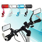 1 Pair Mountain Bicycle Handlebar Rear Back View Rearview Electric cars Mirror