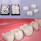 50x Dentistry Oral Dental Temporary Posterior Anterior Teeth Crown Resin Tooth A