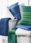 100% Cotton Striped Value Picnic - Sofa - Bed Throw/ Blanket in Two Sizes