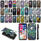 "For Apple iPhone X 5.8"" Hybrid Heavy Duty Kickstand Phone Case Cover + Pen"