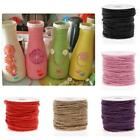 10M DIY Color Hemp Rope 2mm Natural Craft Jute Rope Cord Thick String RS 24