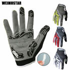WEIMOSTAR Warm Gel Paded MTB Bike Bicycle Sports Cycling Wear Full Finger Gloves