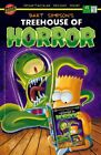 Bart Simpson Kang Kodos Alien Comic Book Cover Treehouse of Horror Simpsons Art