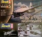 Revell 1/32 Me262 B-1/U-1 Nightfighter New Plastic Model Kit 04995 Messerschmitt