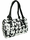 """US HANDMADE DOCTOR BAGS WITH  """"ROCKABILLY GOTHIC"""" PATTERN ,  COTTON, NEW"""