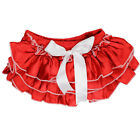 JuDanzy BRAND RED SATIN BABY DIAPER COVER   BLOOMER,  VALENTINES OR 4TH OF JULY