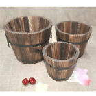 Various Wooden Planter Garden Yard Flower Succulent Herb Container Plant Pot