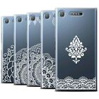 sony xperia sp details - STUFF4 Gel/TPU Case/Cover for Sony Xperia XZ1/Floral Lace