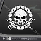 Dental Hygienist Skull Crossbones Decal - hygienists skull & bones decal sticker