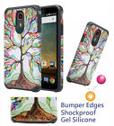 for ZTE N817 Uhura ULTRA Quest LEGACY Case Shock proof Edges Hybrid Bumper Cover