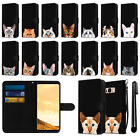 """For Samsung Galaxy S8 G950 5.8"""" Cat Slim Wallet Pouch Case Cover + Pen"""