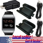 US 2X Charging Cradle Smart Watch Charger Dock for Samsung Galaxy Gear SM-V700 e