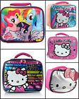 """Hello Kitty My Little Pony  Full Size 10"""" Girls School Insulated Lunch Box Bag"""