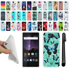 For ZTE Tempo N9131 Various Design TPU SILICONE Soft Protective Case Cover + Pen