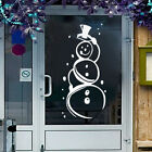 Snow Man Window/ Wall Decoration Christmas Sticker / Decal Novelty Funny