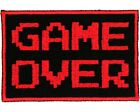 Game Over Patch - Video Game Patch - Gamer Patch - 80s Nostalgia Patch