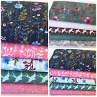 Floral & Fauna, floral fat quarter bundles 100% cotton fabric for sewing & craft