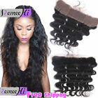 Free Part 13x2 Brazilian Body Wave Lace Frontal Closure Human Hair Full Lace