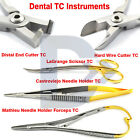 Tungsten Carbide Castroviejo Needle Holder Forceps Surgical LaGrange Scissor Lab