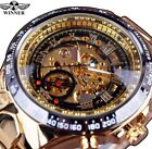 NEW! Mens Luxury Montre Homme Clock Men Automatic Skeleton Watch!