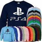 Play Station 4 Sweat Kids Play Nice Awesome Design Sweater Distressed Shirt