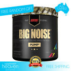 Big Noise Pump Pre Workout 30 Serves Redcon1 Total War Non Stimulant Focus Pumps
