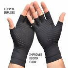 Copper infused Arthritis Gloves, Compression Therapy, increases blood flow,