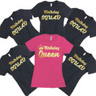 Birthday TSHIRT Birthday QUEEN SQUAD Lady Tee Shirt Birthday Party ALL COLORS